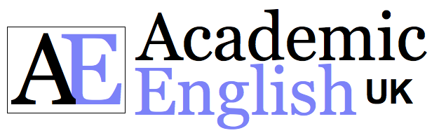 the biggest logo of Academic English