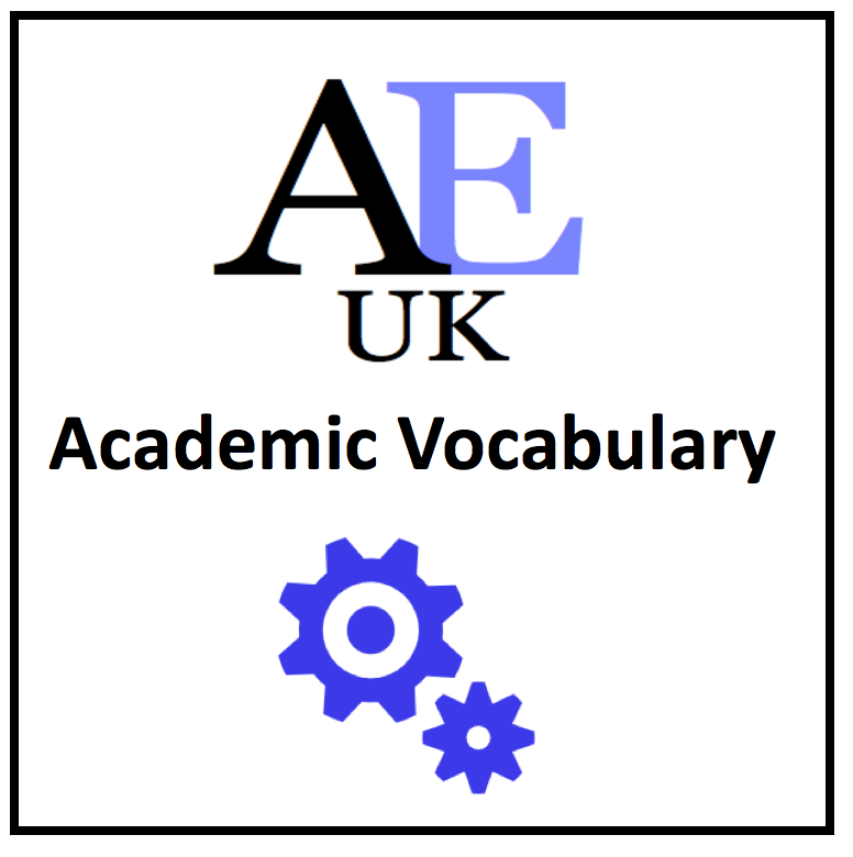 vocabulary for academic english Applying formal vocabulary to academic writing: is the task achievable 173 english (refer to   for the main features of the program.