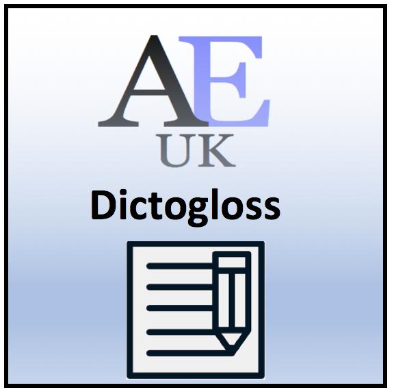 dictogloss AEUK
