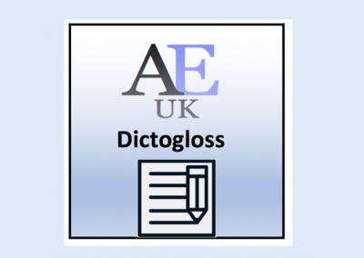 Academic Dictogloss