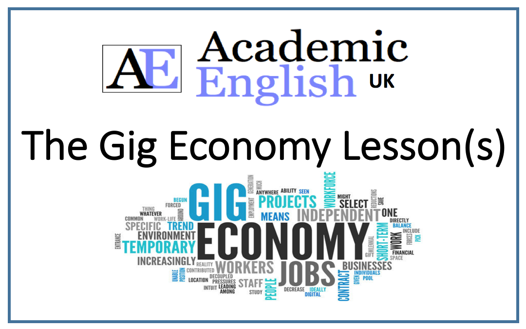 The gig economy lessons