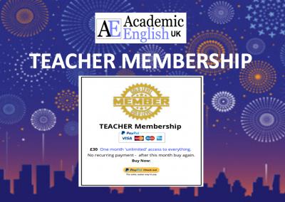Teacher Membership Blog