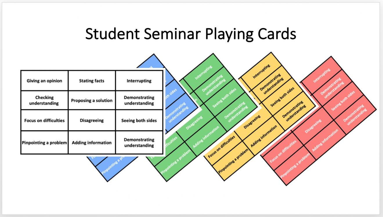 seminar playing cards