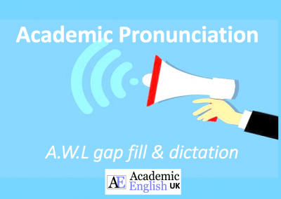 Academic Pronunciation