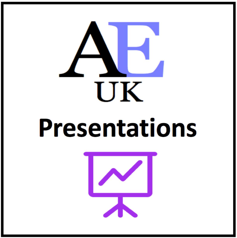 Academic English presentations
