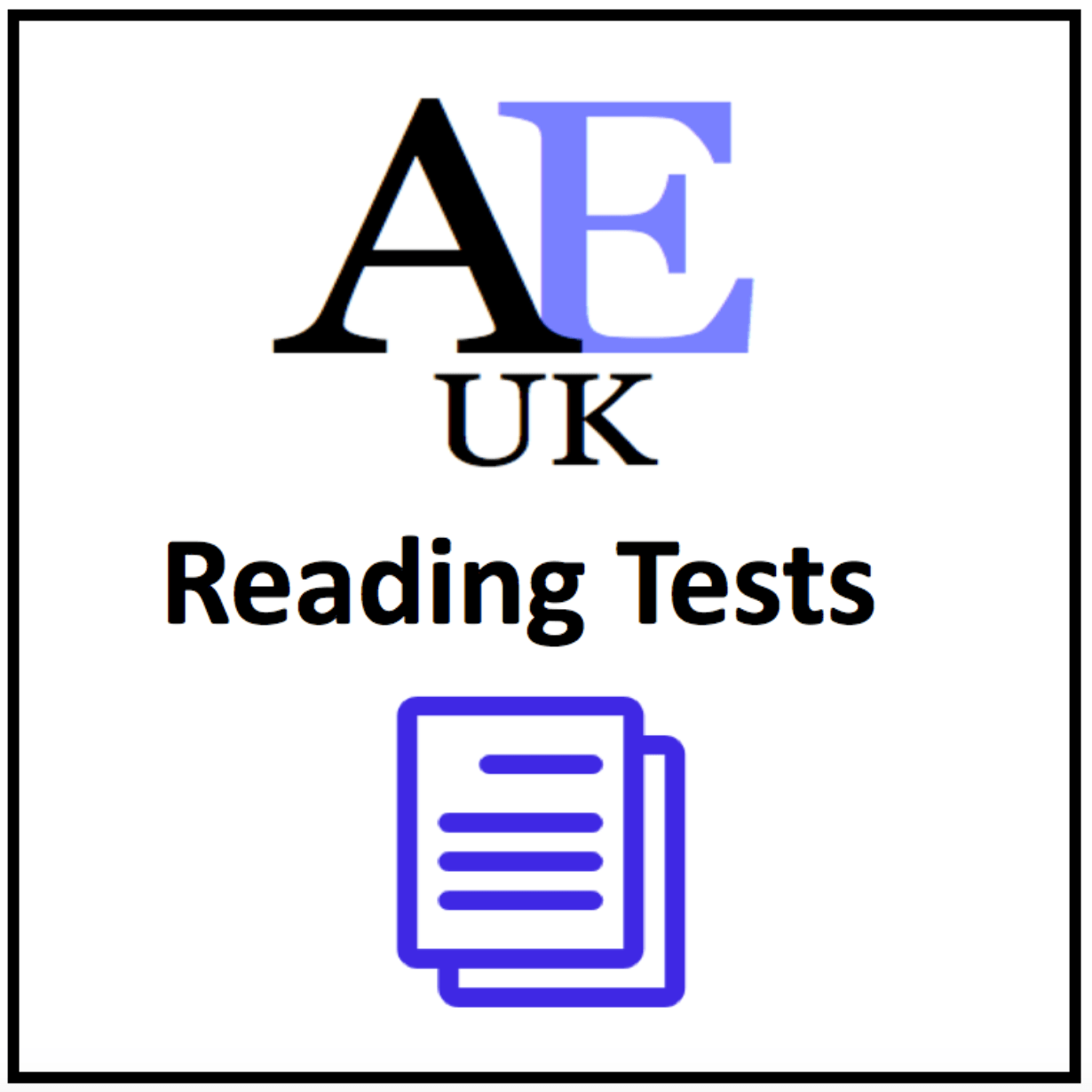 Reading Lessons and Reading Tests - Academic English Reading