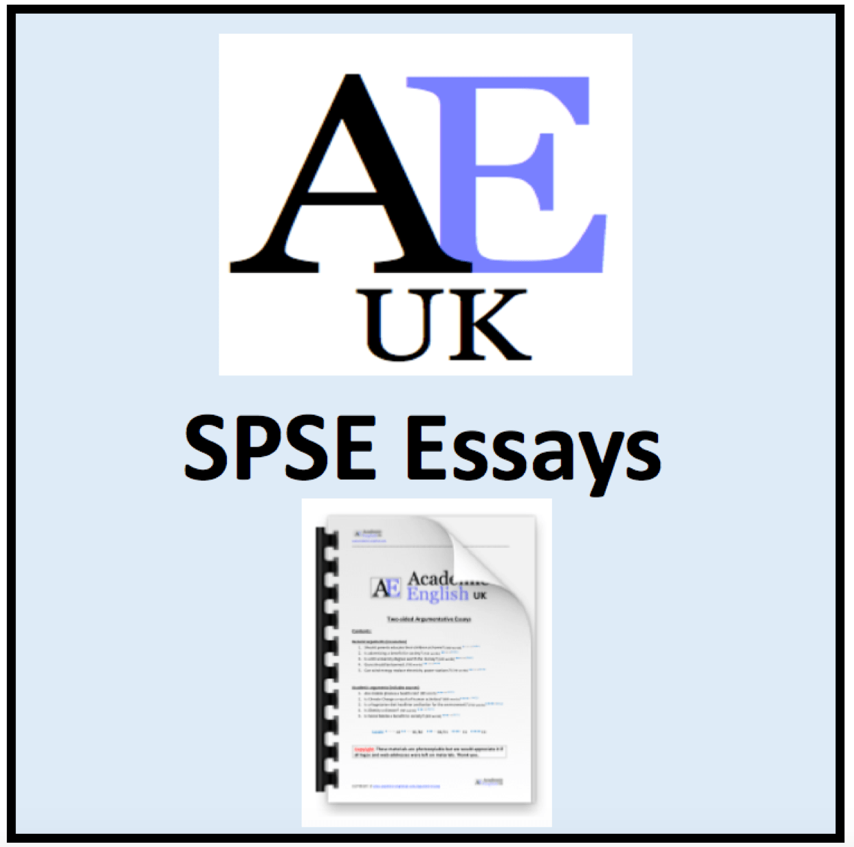 Academic English Situation problem solution evaluation essays