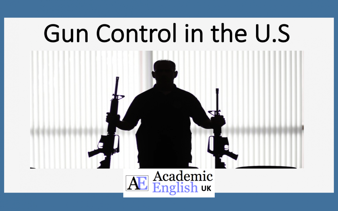 Gun Culture in the U.S. Lecture