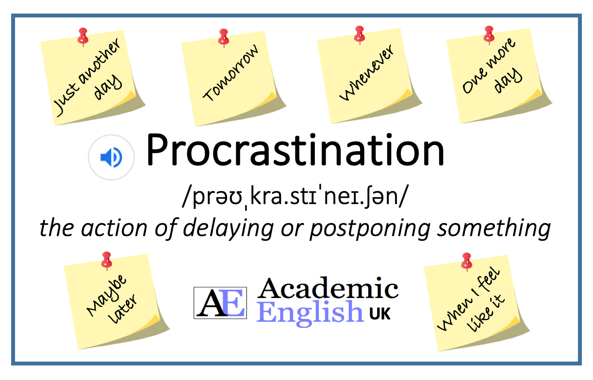 procrastination at university
