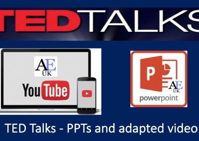 TED Talks Powerpoint Lessons