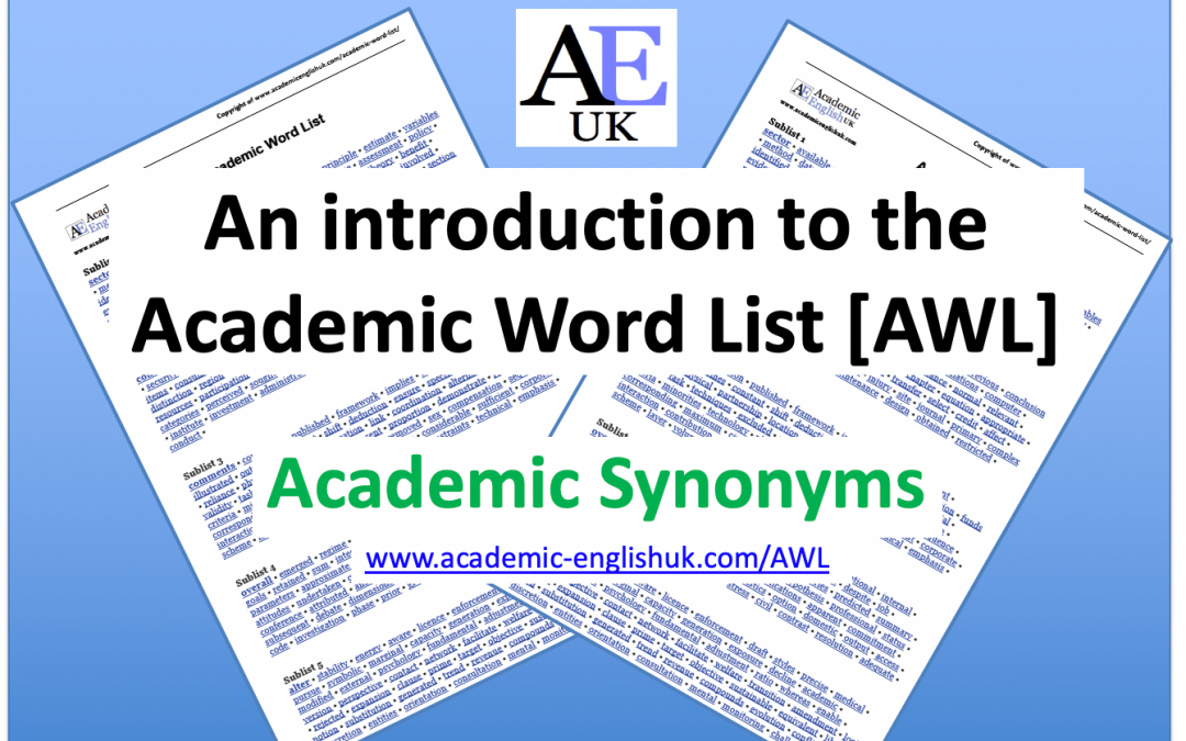 Introduction to Academic Word List