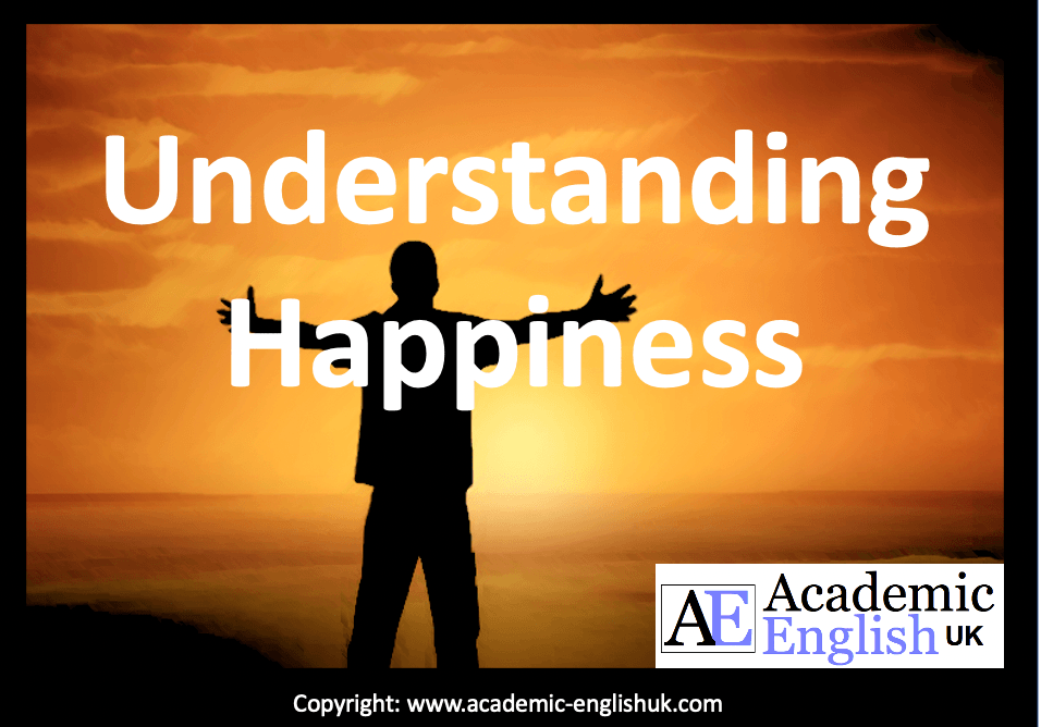 Understanding happiness lesson