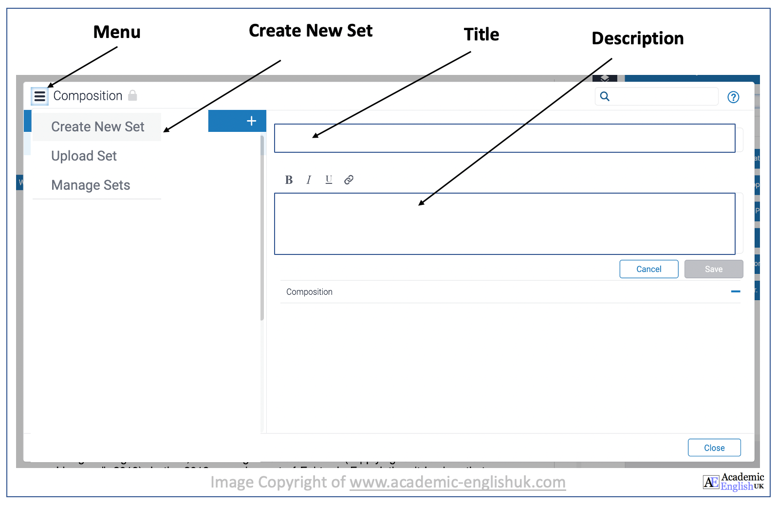how to create a QuickMark set
