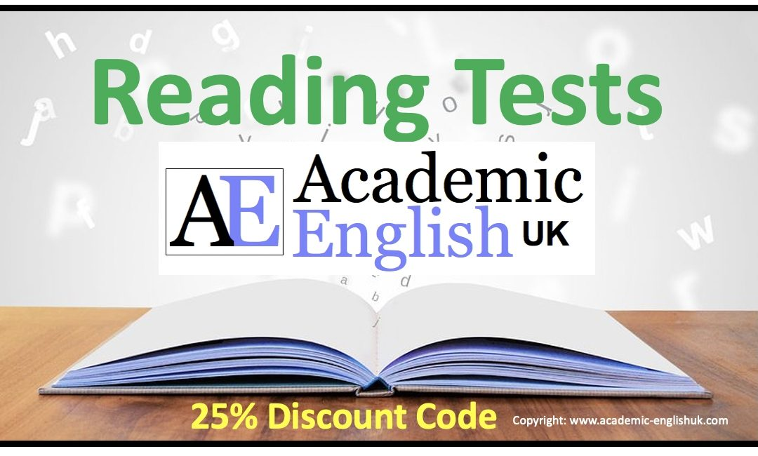 Academic Reading Tests
