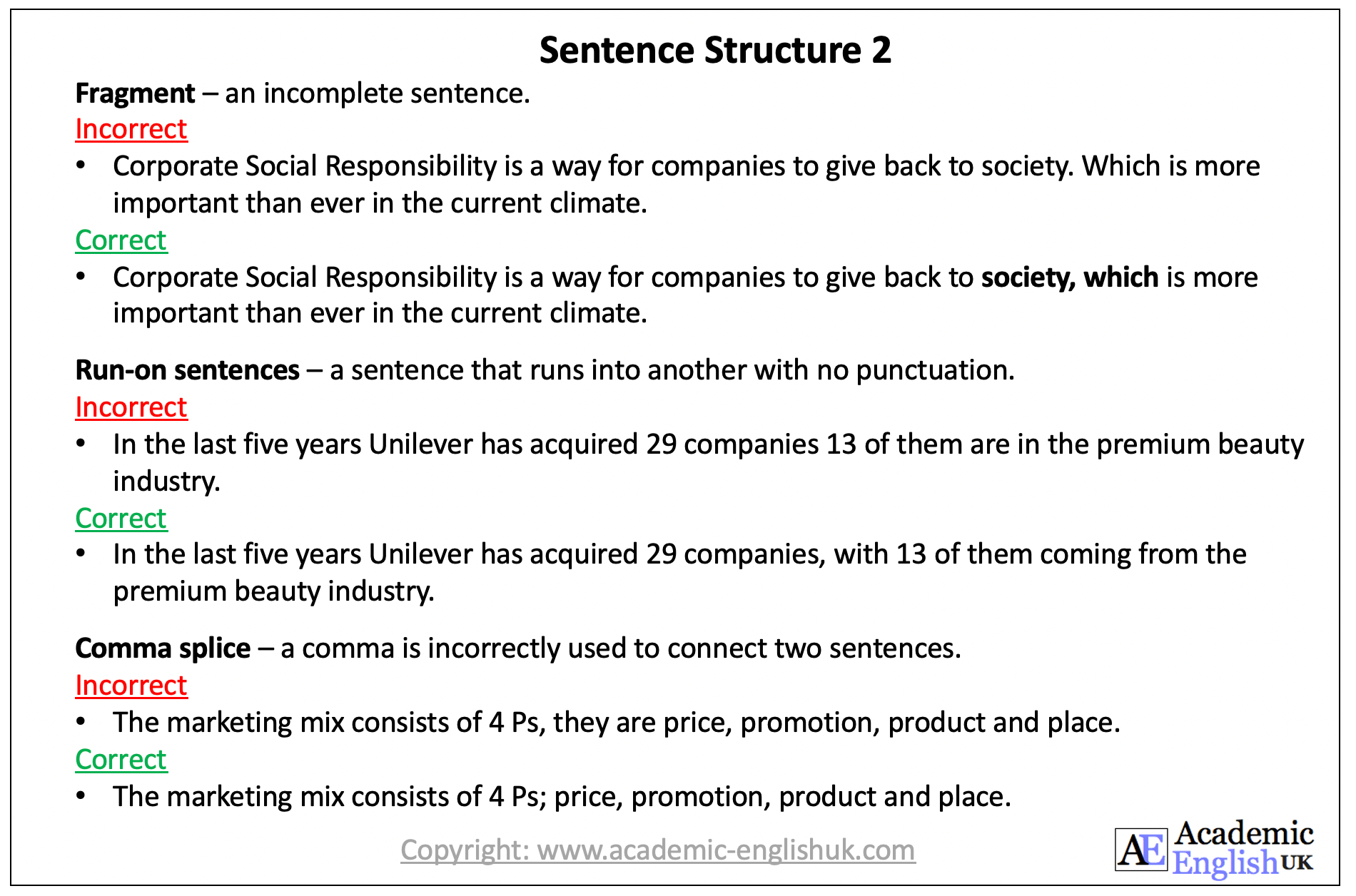 sentence structure 2 Aeuk