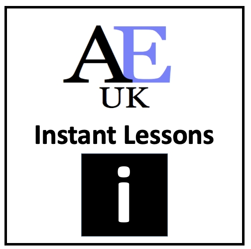 instant academic English Lessons by AEUK